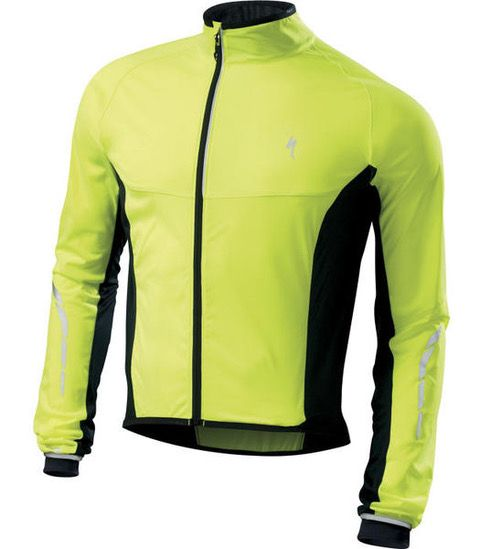 Specialized Deflect SL Jacket cykeljakke - Neon gul/sort
