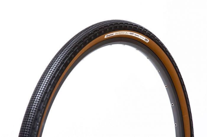 Panaracer GravelKing SK+ sort/brun foldedæk - Protite Shield+
