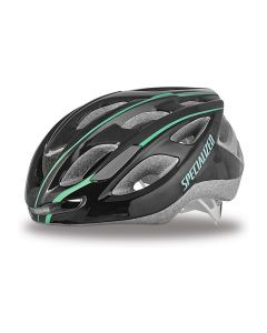 Specialized Duet cykelhjelm dame - Black/emerald