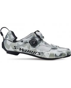 Specialized S-Works Trivent Triathlon cykelsko - White camo