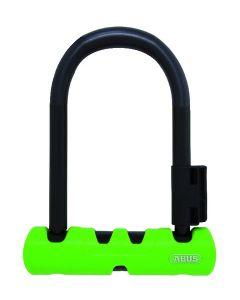 Abus 410 Ultra Mini bøjlelås - 140 mm cykellås - Grøn