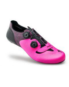 Specialized S-Works 6 cykelsko til landevej - Neon pink