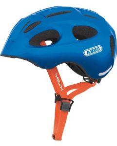 Abus Youn-I cykelhjelm til børn med lys - Sparkling blue