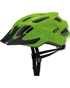 Abus Mountx cykelhjelm med lys - Apple green
