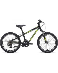 Specialized Hotrock 20 6-Speed Boys MTB børnecykel - Hyper Crackle/Emerald/Hyper