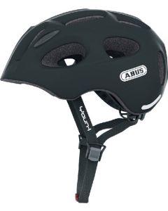 Abus Youn-I cykelhjelm til børn med lys - Velvet black
