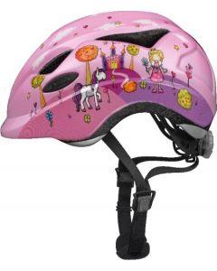 Abus Anuky cykelhjelm til børn med lys - Princess