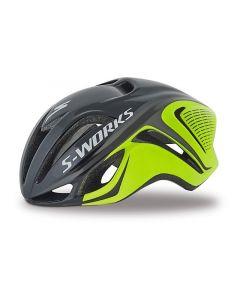 S-Works Evade Tri cykelhjelm - Hyper green/black
