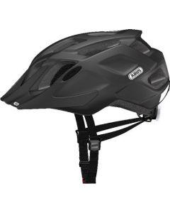 Abus Mountx cykelhjelm med lys - Velvet black