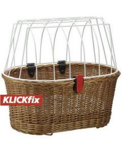 Klickfix Doggy fix cykelkurv til hund