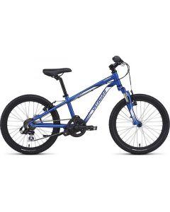 Specialized Hotrock 20 6-Speed Boys MTB børnecykel - Blå/Hvid/Sort