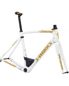 Specialized 2017 S-Works Roubaix Tom Boonen Disc Frameset cykelstel 54 cm.