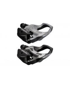 Shimano R550 SPD-SL LVG pedal - Inkl. Klampe - Sort