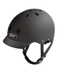 Nutcase Solid GEN3 cykelhjelm - Blackish matte