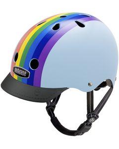 Nutcase GEN3 Street cykelhjelm - Rainbow sky
