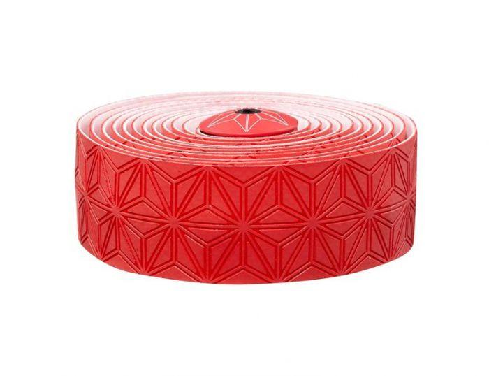 Supacaz Super sticky kush styrbånd - Rød