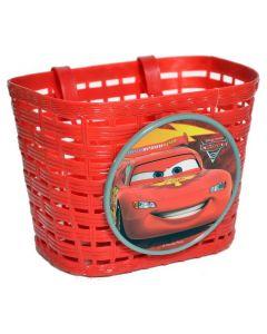 Widek cykelkurv børn - Til front - Cars rød