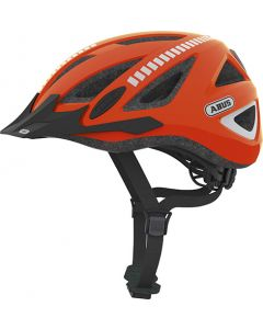 Abus Urban-I v.2 cykelhjelm Signal - Neon orange med reflekser