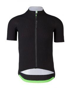 Q36.5 Jersey short sleeve L1 Pinstripe cykeltrøje - Black