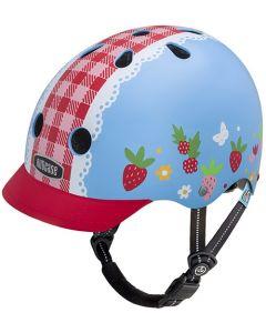 Nutcase Little Nutty GEN3 cykelhjelm til børn - Berry sweet