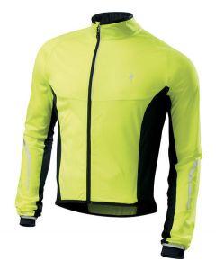 Specialized Deflect SL Jacket cykeljakke - Neon gul/sort