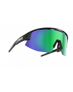 Bliz Matrix solbriller til sport - Black frame/Brown with green multi lens