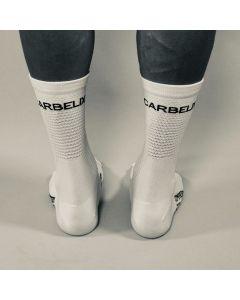 Carbelix Stelvio cykelstrømpe - Hvid