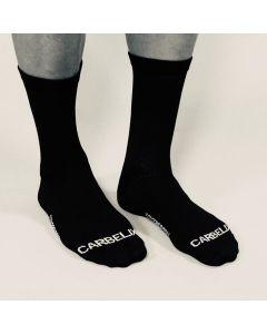 Carbelix Mortirolo cykelstrømpe - Sort