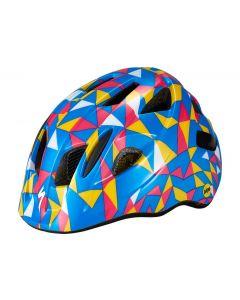 Specialized MIO MIPS cykelhjelm til børn - Pro Blue/Golden Yellow Geo