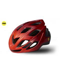 Specialized Chamonix cykelhjelm med MIPS - Gloss Rocket Red