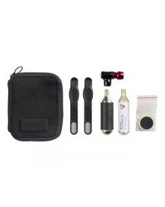 Bontrager Pro Flat Pack CO2 pumper med taske og tilbehør