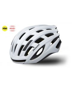 Specialized cykelhjelm med MIPS og ANGI - Matte White Tech