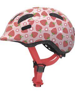 Abus Smiley 2.1 cykelhjelm til børn - Rose strawberry