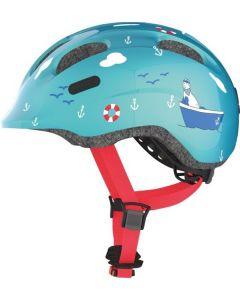 Abus Smiley 2.0 cykelhjelm til børn - Turquoise sailor