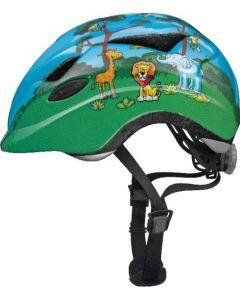Abus Anuky cykelhjelm til børn med lys - Jungle