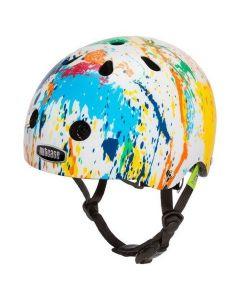 Nutcase Baby Nutty cykelhjelm til børn - Color splash
