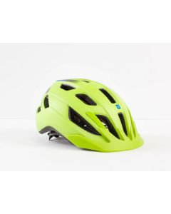Bontrager Solstice MIPS Youth cykelhjelm til børn - Radioactive Yellow/Waterloo Blue
