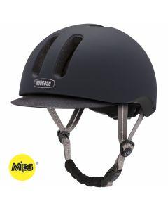 Nutcase METRORIDE MIPS cykelhjelm - Black tie matte
