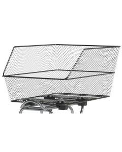 Basil Cento WSL cykelkurv til bagagebærer - Sort