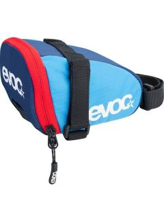 Evoc saddle bag Team sadeltaske - Sky/Navy/red