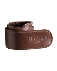 Brooks buksestrap - Bukseklemme - Mørk brun
