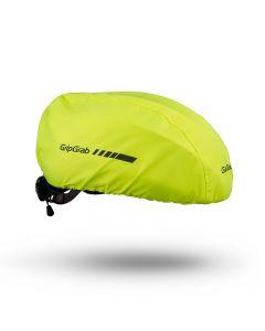 GripGrab Helmet Cover til cykelhjelm Hi-Vis - Onesize - Gul