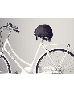 Helmmate lås og overtræk til cykelhjelm til voksne - Sort