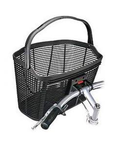 Klickfix Lamello 18 L cykelkurv - Sort