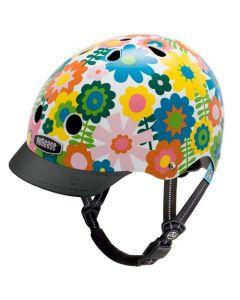 Nutcase Little Nutty GEN3 cykelhjelm til børn - In bloom