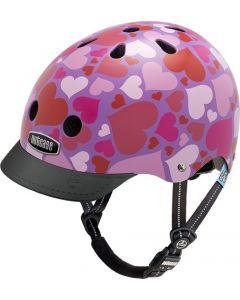 Nutcase Little Nutty GEN3 cykelhjelm til børn - Lotsa love