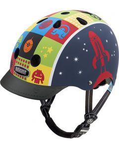 Nutcase Little Nutty GEN3 cykelhjelm til børn - Space cadet