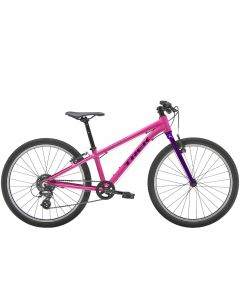 "Trek Wahoo 24"" MTB børnecykel - Flamingo Pink/Purple Lotus"