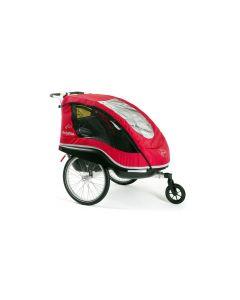 Winther Dolphin NE cykelanhænger - Rød