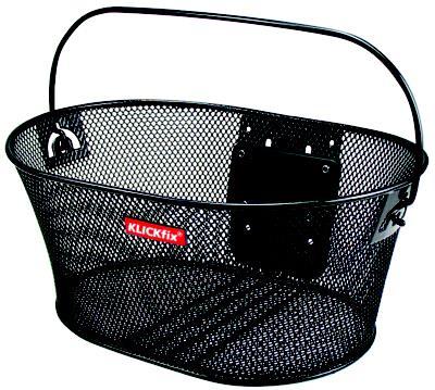 Klickfix cykelkurv Structura Oval | bike basket